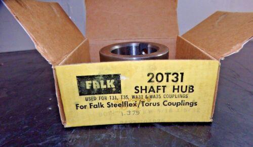 """Falk Shaft Hub 20T31 1.375/"""" x 5//16/"""" x 5//32/"""" 794925"""