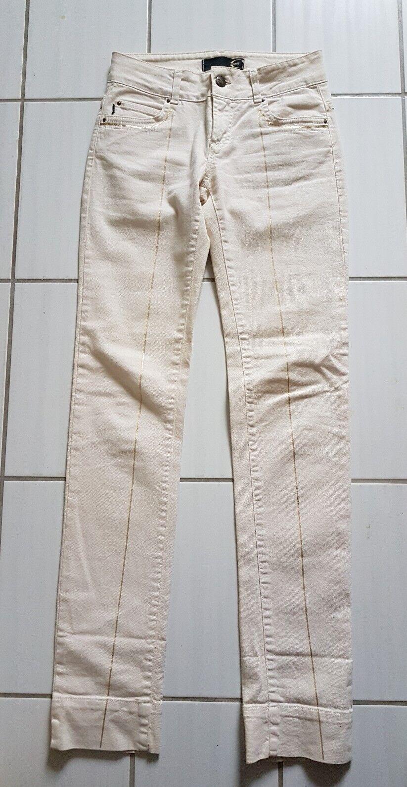 Träumchen Luxus Hose Hose Hose Jeans 34 36 sehr edel Just Cavalli  mit Gold | Niedrige Kosten  | Qualifizierte Herstellung  | Gute Qualität  80efce