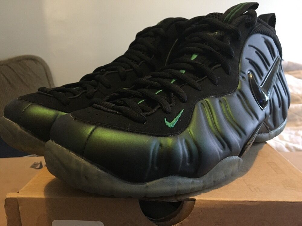BRAND NEW Foamposite Collection (Pines, Coppers, Eggplants, Pewter)Size 12