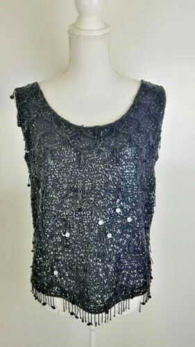 Vintage Couture Koret of California Sequined Top
