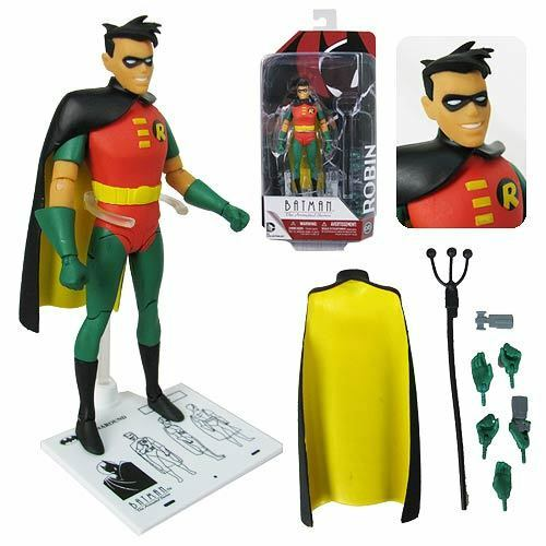 Dc collectibles  batman animierte serie robin abbildung