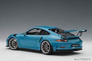 Auto-Art-AUTOart-1-18-Porsche-911-991-GT3-RS-Sky-Blue-finished-product