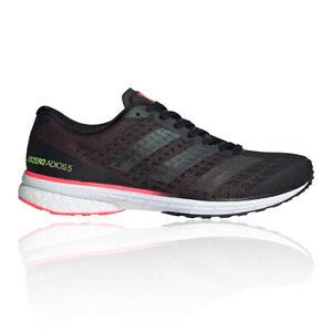 Adidas Femmes AdiZero Adios 5 Chaussure De Course Noir Sport Respirant Réfléchissant