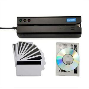 MSR605X Magnetic Stripe Credit Card Reader Encoder Writer Swipe Magstripe MSR206