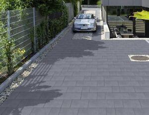 kann funktionspflaster multitec betonglatt in grau anthrazit 10 cm ebay. Black Bedroom Furniture Sets. Home Design Ideas