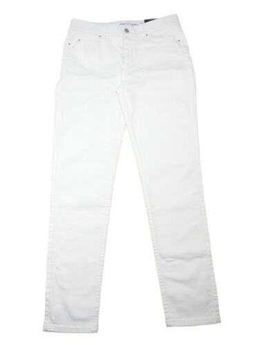White Rafaella Women/'s Comfort-Waist Weekend Slim Leg Denim Skinny Jeans