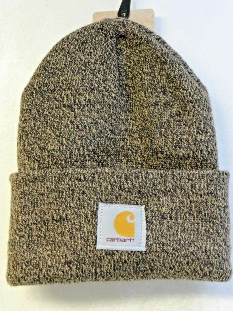 3aa9e4fdc0c Carhartt Men 100% Acrylic Watch Hat A18 Dark Brown Sandstone One Size