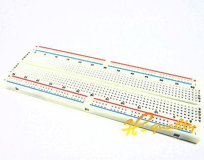 MB-102 Solderless Breadboard Protoboard 830 Tie Points 2 buses Test Circuit