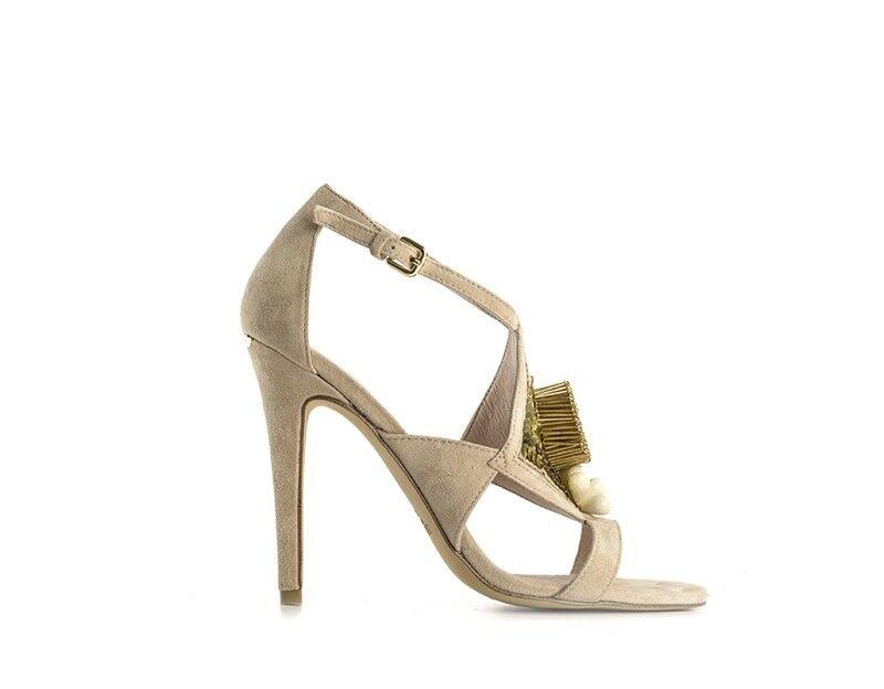 shoes LIU JO women Sandali Alti  BEIGE Pelle naturale S16141P0021-41119