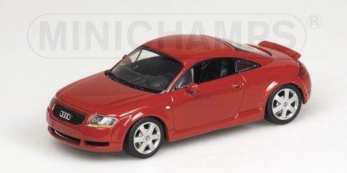 Audi Audi Audi Tt Coupe' 2000 Red 1 43 Model MINICHAMPS edaba1