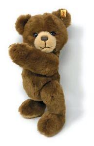 Steiff-Baer-Teddy-PETSY-braun-35-cm-012587-kuschelweich-neuwertig-unbespielt