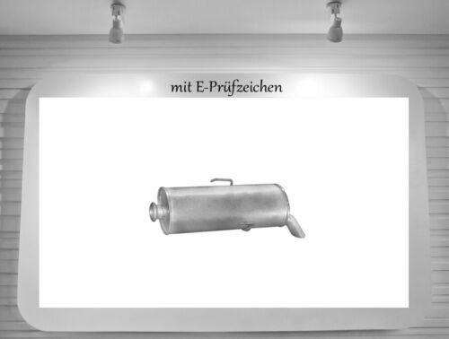 Auspuffanlage Citroen Saxo 1.1 1.4 44//55KW Auspuff Endtopf Mittelrohr