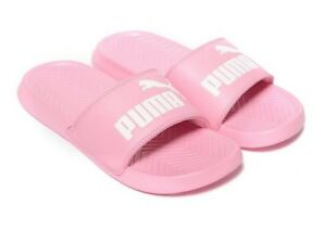 NEW PUMA WOMEN S POPCAT SANDALS SLIDES ~ SIZE US 6.5 ~  36122215-015 ... ed7b8e43ba06