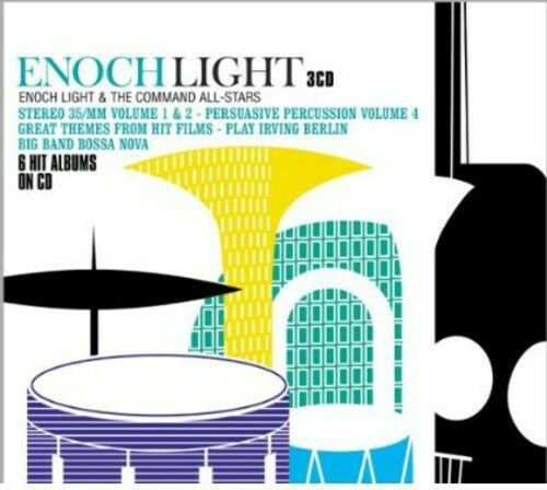 Enoch Light & His Orchestra/Enoch Light & The Co - 6 Hit Albums on CD [New CD] H