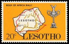 """LESOTHO 74 (SG174) - Roof of Africa Auto Rally """"Course Map"""" (pa45199)"""