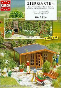 Busch-1226-Ziergarten-Kit-H0
