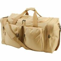 Large 26 Outdoor Desert Sand Duffle Bag, Mens Carry-on Overnight Luggage Tote