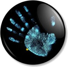 "Fringe Hand Print 25mm 1"" Pin Button Badge TV Series Sci-Fi FBI Symbol Image"