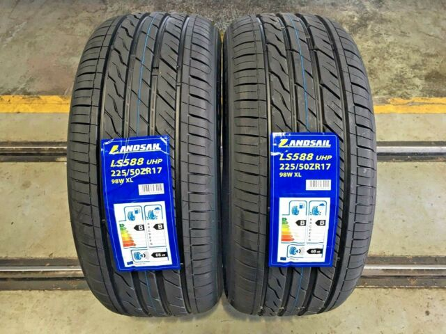 X2 225 50 17  225/50R17  98W XL LANDSAIL TYRES WITH UNBEATABLE B,B RATINGS CHEAP