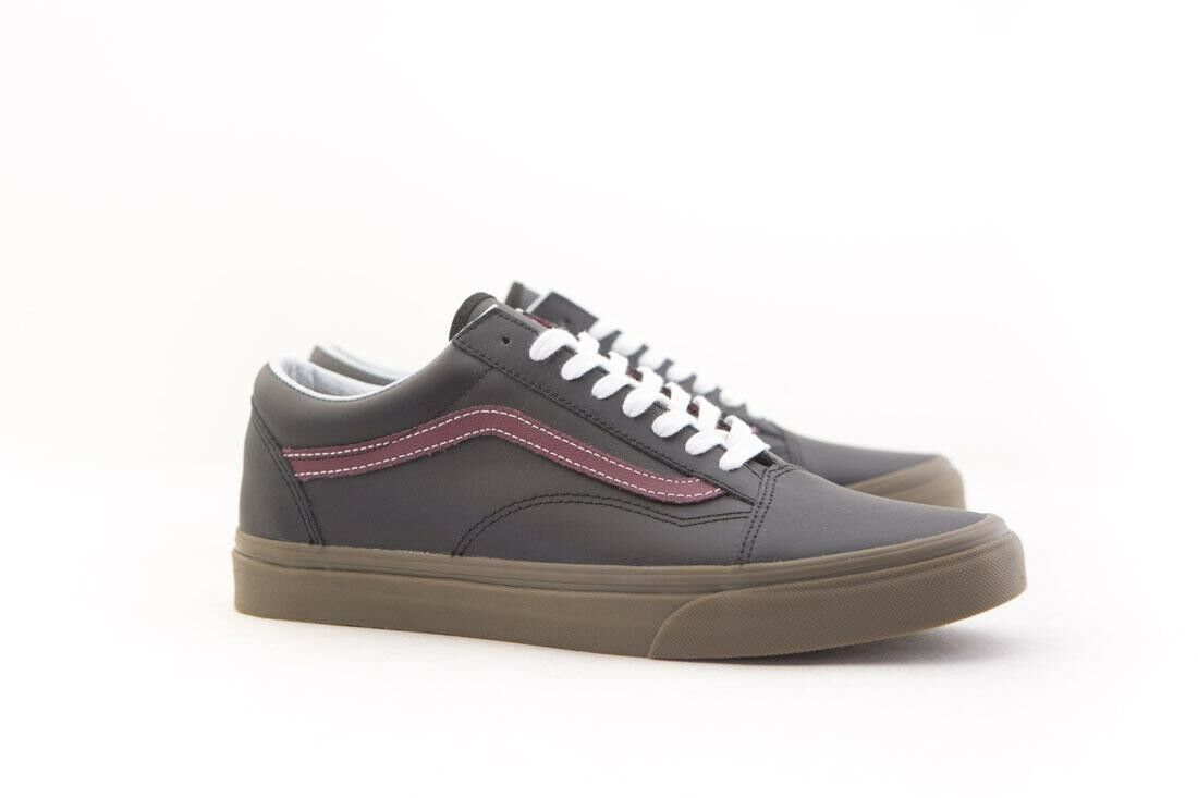 VN08G1OKR Vans Men Old Skool - Bleacher black