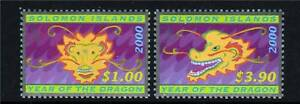 Solomon-Is-2000-Year-of-the-Dragon-SG966-7-MNH