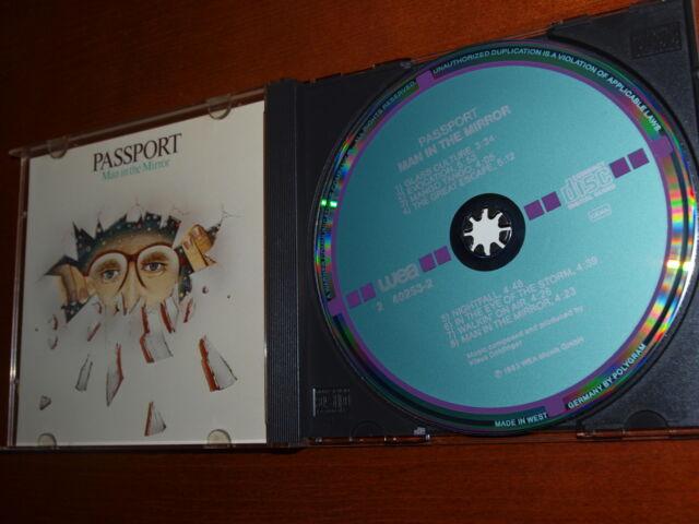 Passport - Man in the Mirror 1983 W German Target cd Klaus Doldinger Curt Cress
