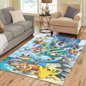 Image Is Loading New Customize Home Mat Custom Pokemon Rugs Area