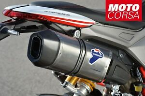 termignoni full exhaust system for ducati hypermotard 821 939 ebay. Black Bedroom Furniture Sets. Home Design Ideas