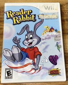 Reader Rabbit 1st Grade (Nintendo Wii, 2011)-B33