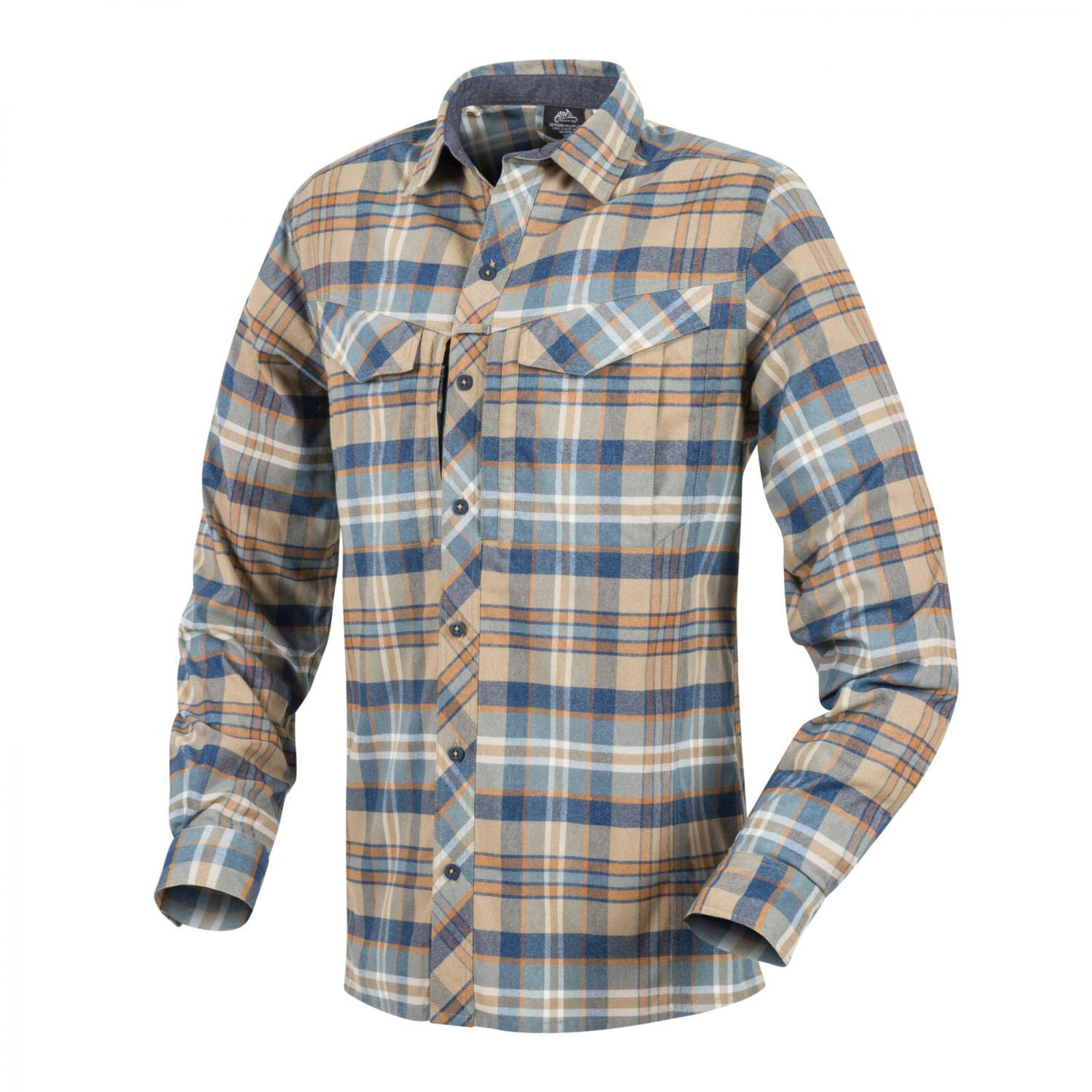 Helikon-Tex Defender Mk2 Pilgrim Long Sleeve Shirt Hemd - Ginger Plaid