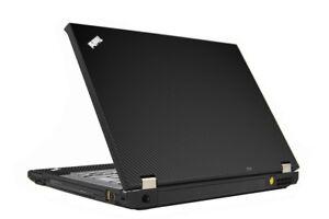 Rask LidStyles Carbon Fiber Laptop Skin Protector Decal IBM Lenovo TB-16