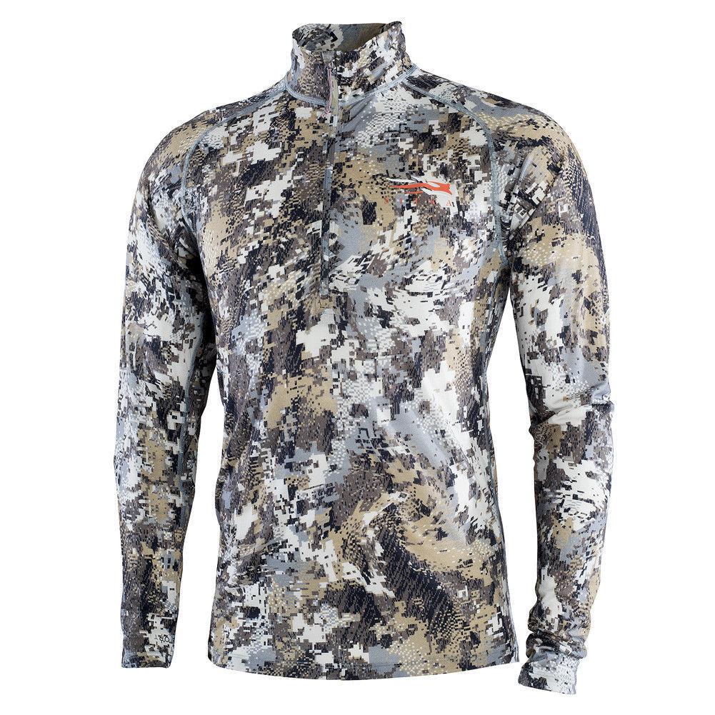 Sitka Merino Lightweight Half-Zip Fleece  Elevated II 10056-EV   fashionable