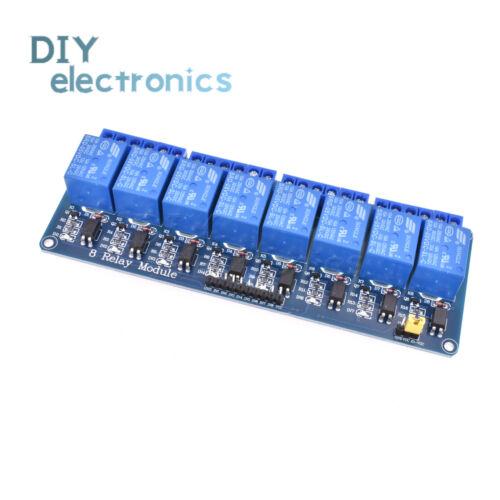 5V 2//4//8//16 Channel Relay Board Module Optocoupler LED AVR PIC ARM PLC B2AE