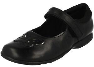 Lights de Rose To12 Uk7 zapatos Fit Inf Trixi cuero Riptape 29b H Clarks negro x5YwqIvFn