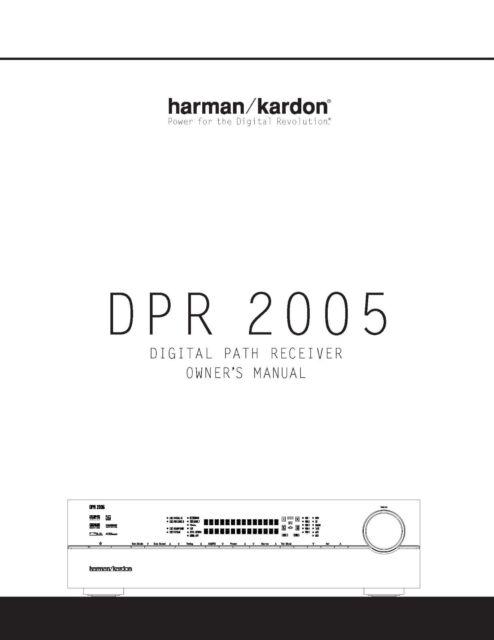 Harman Kardon Dpr