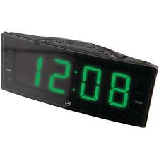 GPX, Inc. C353B AM/FM Clock Radio with Dual Alarms and LED Display (Black)