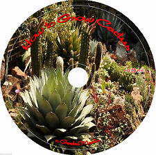 How to Grow Cactus 8 Books Easy Dessert Blooms Succulents on cd