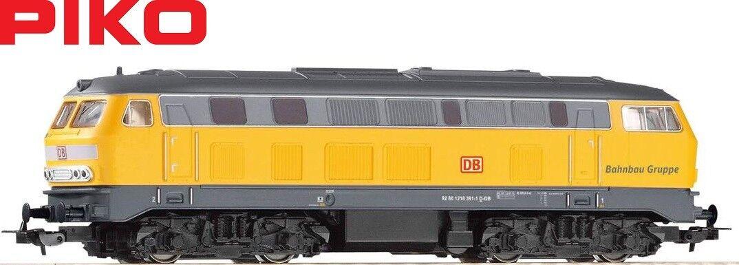 PIKO h0 57802 DIESEL BR 218 delle DB rete AG