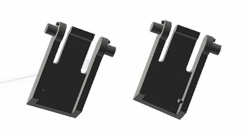 STRONGER Logitech G15 G15s Gaming Keyboard Replacement Foot//Leg//Feet 2pcs Set Pr