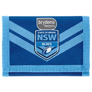 State of Origin NSW New South Wales Nylon Wallet Birthday
