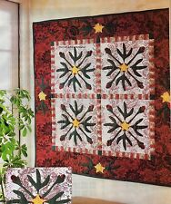Budding Beauty Quilt Pattern Pieced/Applique PS