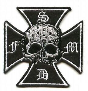 Noir Label Society Ventilateur Club Member Collection : Croix Patch
