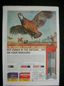 VTG-1960-Orig-Magazine-Ad-Western-Winchester-Power-in-Pattern-Gun-Shells