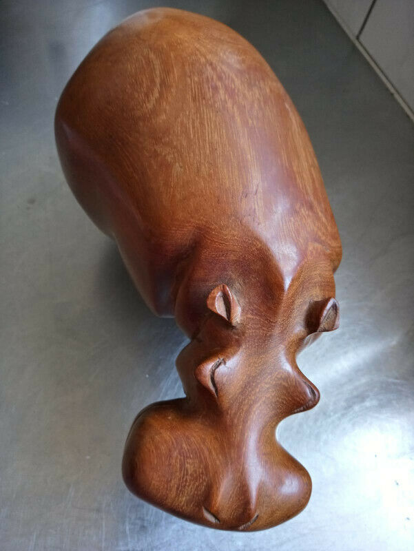 African Rhino carving