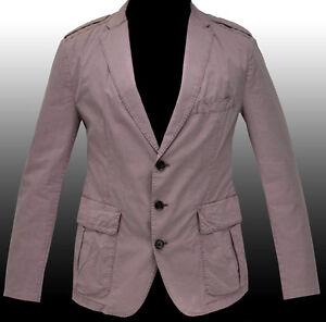 new hugo boss military style blazer sport coat casual jacket veste sakko 40r 50 ebay. Black Bedroom Furniture Sets. Home Design Ideas