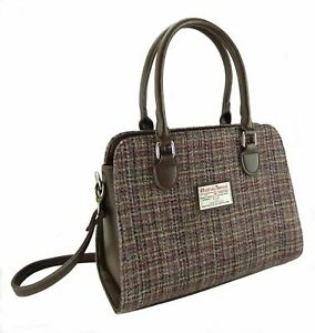 Ladies Authentic Harris Tweed Findhorn Bag | With Shoulder Strap | LB1227 COL 25