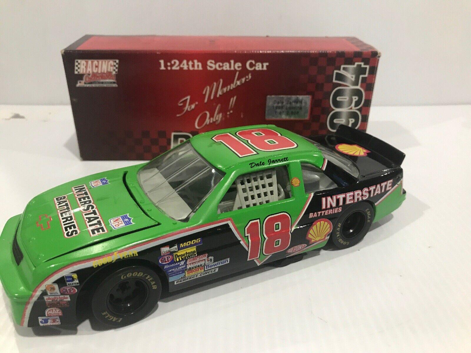 1994 Dale Jarrett INTERSTATE BATTERIES Lumina GIBBS Original 1994 Racing Collectables Club of America libération