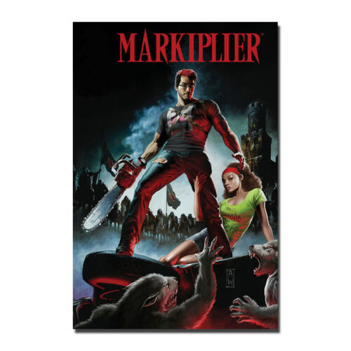 New Custom Markiplier Red Giant Silk Poster Wall Decor 13x20 24x36 inches