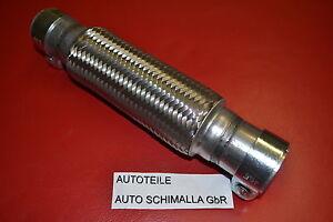 Flexrohr*Katalysator*Opel Astra G 1,6-16V Montage ohne Schweißen+Schellen