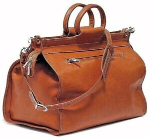 FLOTO PARMA ITALY TRAVELER EDITION LEATHER LUGGAGE DUFFLE BAG BRAND NEW